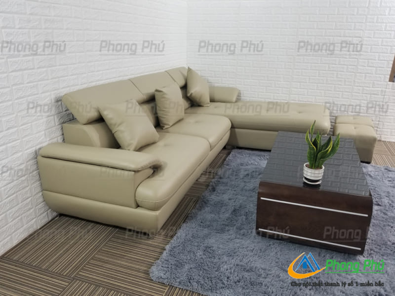 Sofa góc da cao cấp SFC01