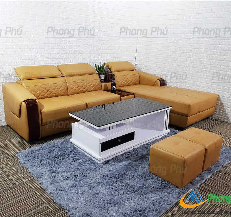 Sofa góc da cao cấp SFC05
