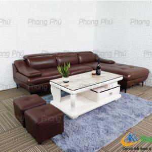Sofa góc da cao cấp SFC08