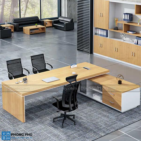 bàn văn phòng chữ L 1